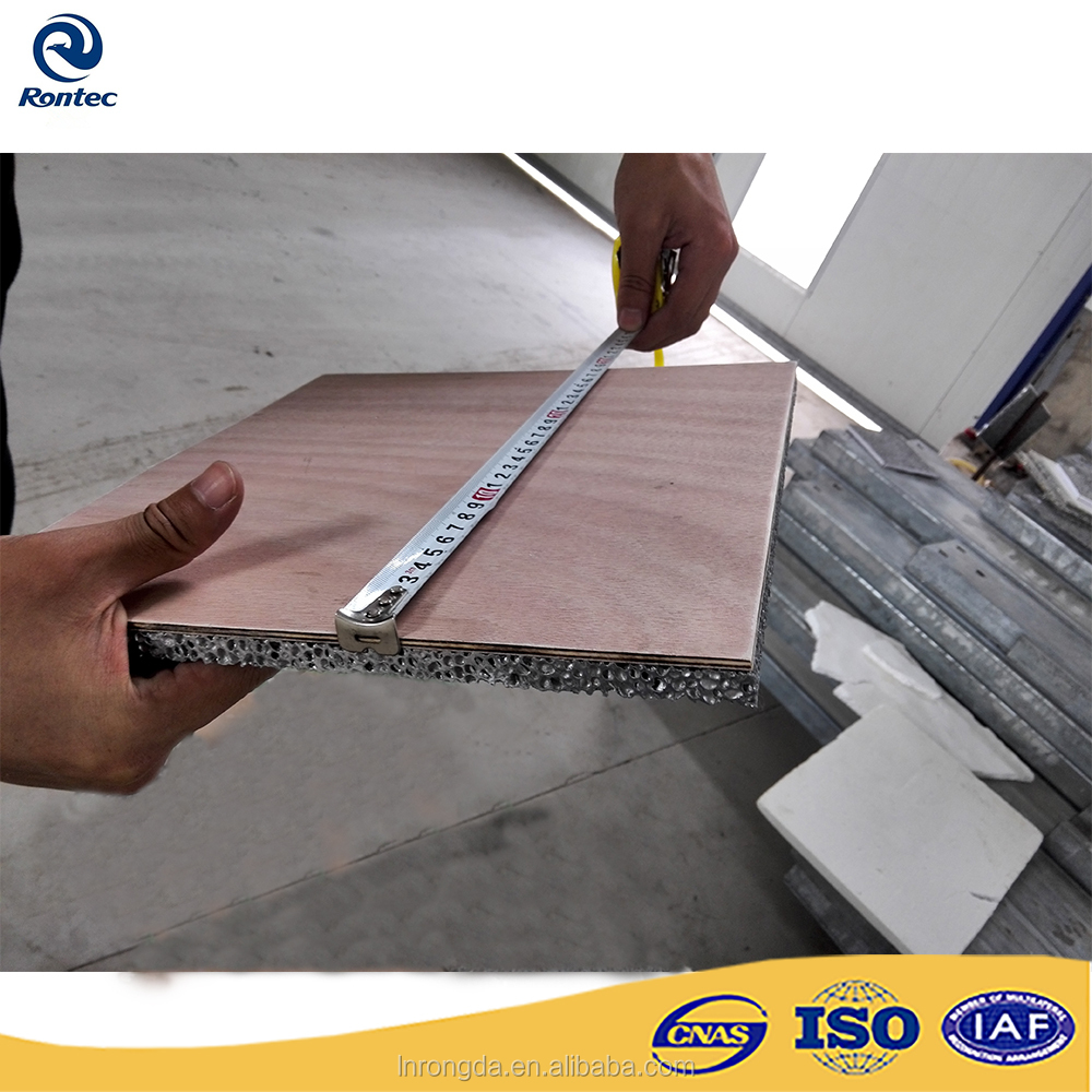 Heat corrosion acoustic aluminum sandwich panel