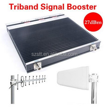Tri-band GSM Repeater DCS 3G Signal Booster 900 1800 2100MHz 70db High Gain 4g LTE Cell Phone Triband Amplifier