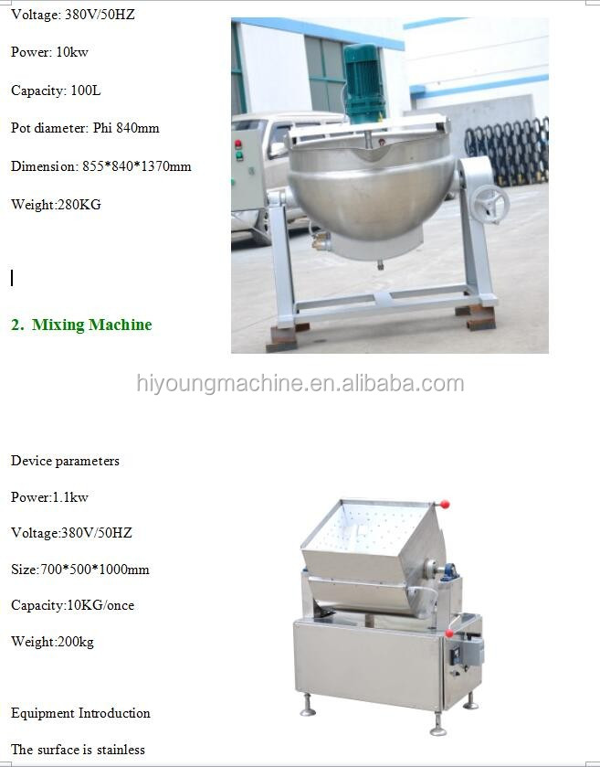 #304 SS multi-function healthy bar making machines