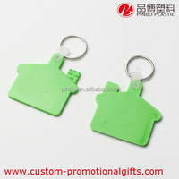 pvc house shaped keychain,multicolor pvc keyrings promotional,wholesale soft pvc keychain