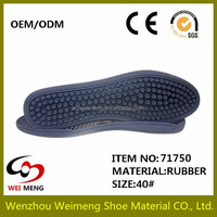 Newest design rubber outsole wholesale with high quality and best price