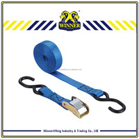 GS approved motorcycle tie down straps and cargo lashing strap