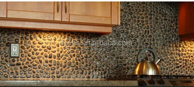 wall pebble decorative stone
