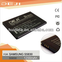 High Capacity Lion Gold Business S5830 Battery 3.7V 2450mah Parts For Samsung Galaxy Ace