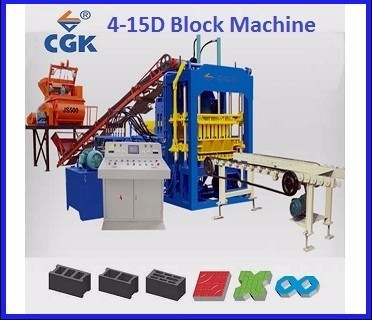 CGK recycling for brick construction machinery brique de faisant la machine 4-25 in US