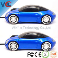 USB Mini Optical 3d Wired Car Mouse with CE standard