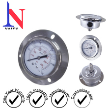 Stainless steel Oil Filled Pressure Gauge