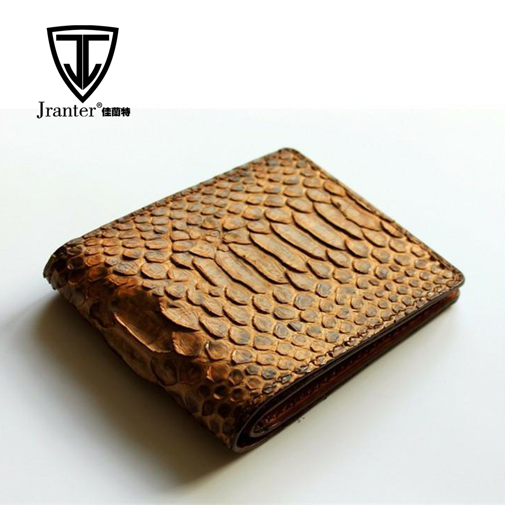 Slim design leather <strong>wallet</strong> real python skin purse for men <strong>wallet</strong> brand