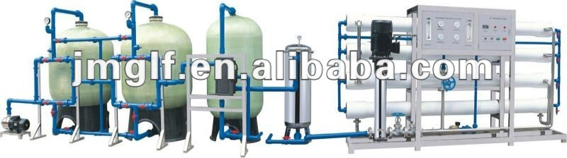 reverse osmosis system desalination and water treatment plant