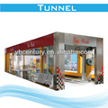60 seconds fast washing speed FD09-2A tunnel car washer standard configuration