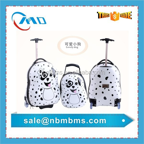 Lovely Dog Wholesale Kids Penguin Trolley Luggage
