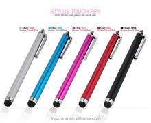 Shenzhen Topshion Stylus Touch Pen for iPad/iPhone, pen with stylus for tablets, alibaba express
