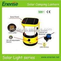 rechargeable lantern for camping, fishing / wholesale solar lamp with battery led lantern