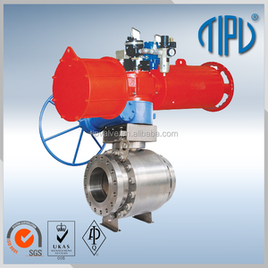 Pneumatic Actuator Single Acting Stainless Steel Ball Valve