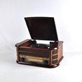 New Style Turntable 513E Wooden Remote Control Turntable Record Player