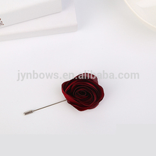 Upscale men pectoral flower brooch cloth art fashion brooches