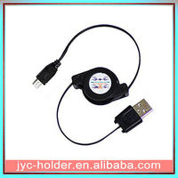Retractable Sync & Charge USB Cable for Amazon Kindle 2 3