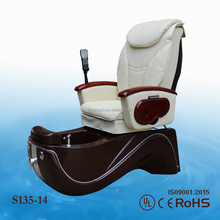 High qulity professional pedicure and facial chair/golden beauty equipment spa chair/manicure pedicure spa chair KZM-S135-14