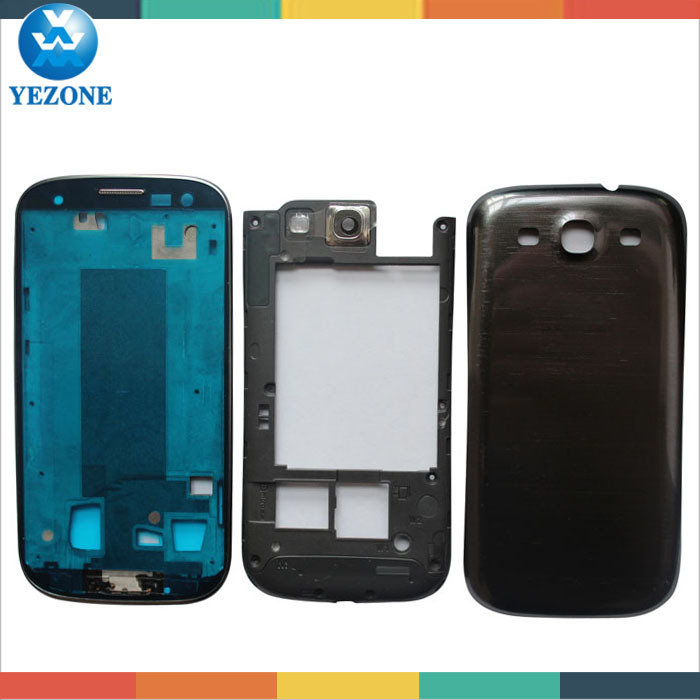 Original Full Housing For Galaxy S3 Color Housing Cover Complete, Housing Replacement For Samsung Galaxy S3 i747