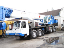 Nice condition Japan used original TADANO truck crane 90 ton for sale TG900E