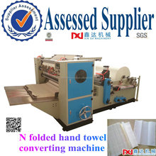 Adsorption folded N type hand paper towel making machine price