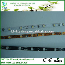 5mm width mini led strip with CE RoHS