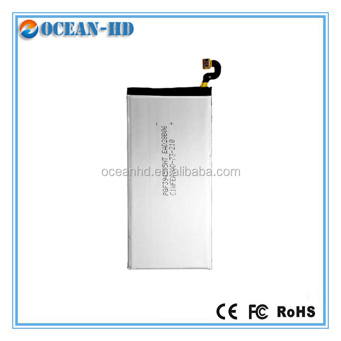 China Manufactures battery Mobile accessories battery for Samsung cellphone S6