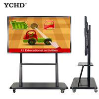 professional manufacturer provide for school smart class 55 60 65 70 75 86 inch LED interactive Touch screen smart Board