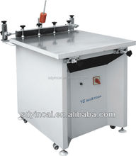 Cheap silk screen printing machine for paper,plastic sheet