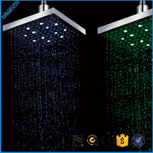 304SUS water power rectangle LED ceiling shower