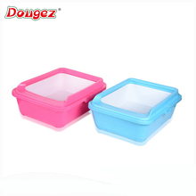 HOT SALE Cat and dog luxury portable indoor plastic toliet,cat litter tray/box with grid