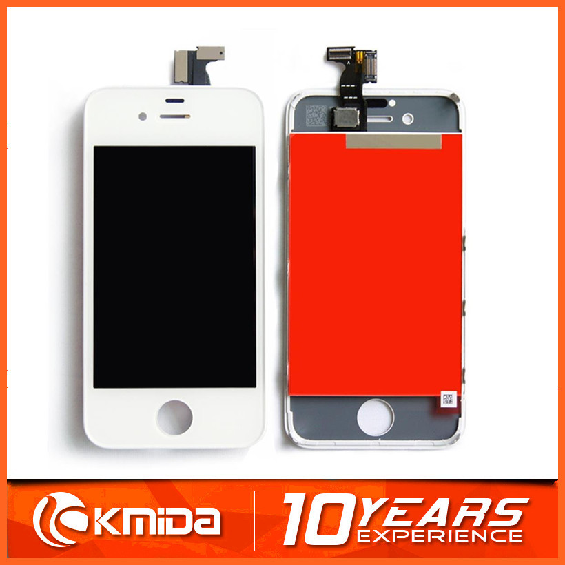 Hot Sale for iphone 4s front glass replacement, for apple iphone 4s copy lcd screen touch digitizer