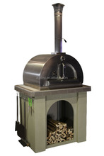 Charcoal Burned Oven Wood Fired Pizza Oven With Tool For Sale