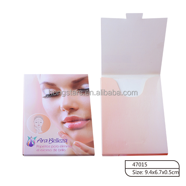 Meidao persaonal cosmetic facial oil blotting paper for girl