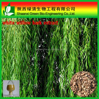 Wholesale price factory supply 15%-98% salicin White willow bark extract