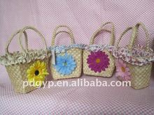 high quality straw bag straw basket
