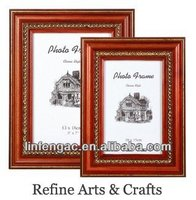 Fancy delicate decorative wall hanging wooden wholesale photo frames