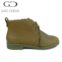 B074-2 Women outdoor shoes ladies high quality leather shoes