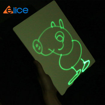 2018 hot puzzle game drawing board,phosphorescence drawing board for luminescent to writing word for party or birthday