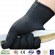 Stainless steel metal mesh working safety hand protective gloves