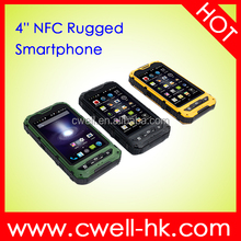 ALPS A8+ Dual SIM Card IP68 Waterproof rugged android phone with nfc WIFI GPS Smartphone NFC