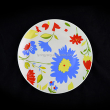 Hot sale hotel dishwasher safe white round crockery, porcelain dinner plates, wholesale dinner plates