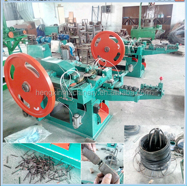 automatic common steel nail making plant with professional production line