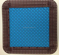 PP outdoor Interlocking Plastic Floor Tiles Sport tile Sport mat Sport flooring