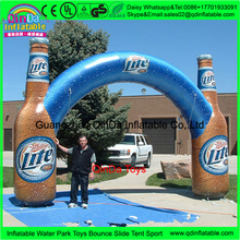Advertisement simulation inflatable beer bottle model ,inflatables relistic Sprite bottle