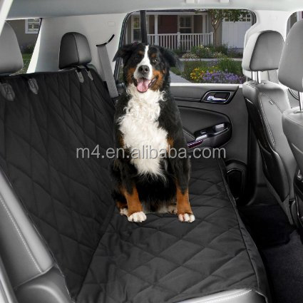 PU coated 600D oxford fabric car seat cover for dog