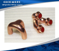 Copper fitting pipe fittings for refrigeration parts and air-conditioner parts claw copper tee