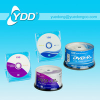 PRINTED DVD+R/BLANK DVD IN 50PCS CAKE BOX PACK WITH COLOUR PAPER LABEL.(YD-003-E)..YDD
