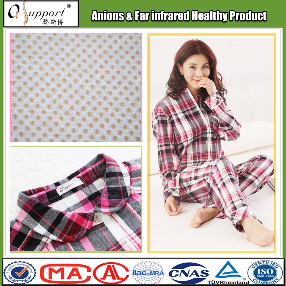 In-stock items polyester and cotton plus size quick dry women nighty sleepwear