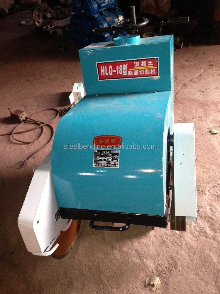 electric powered HQL18 concrete pavement road cutting machine, road cutter